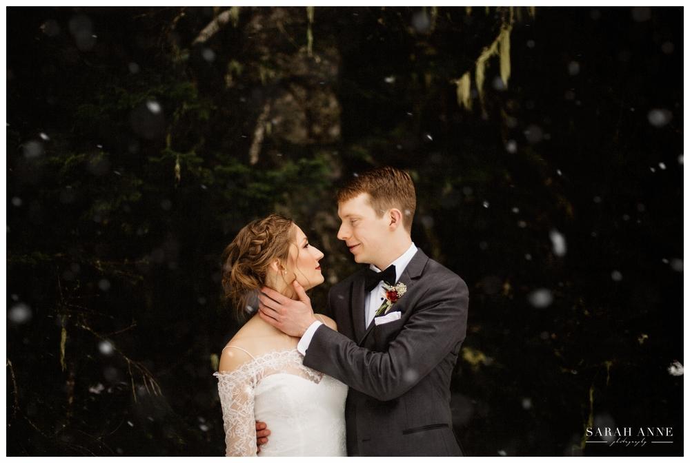 Stylized Winter Bridal Shoot