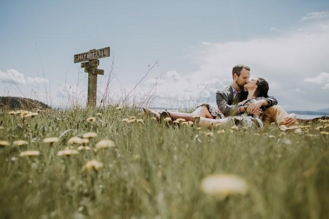 Sarah & Dan Whidbey Island