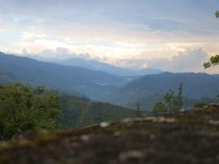 A valley near Salento, Colombia