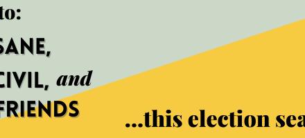 3 Tips for Surviving Election Season