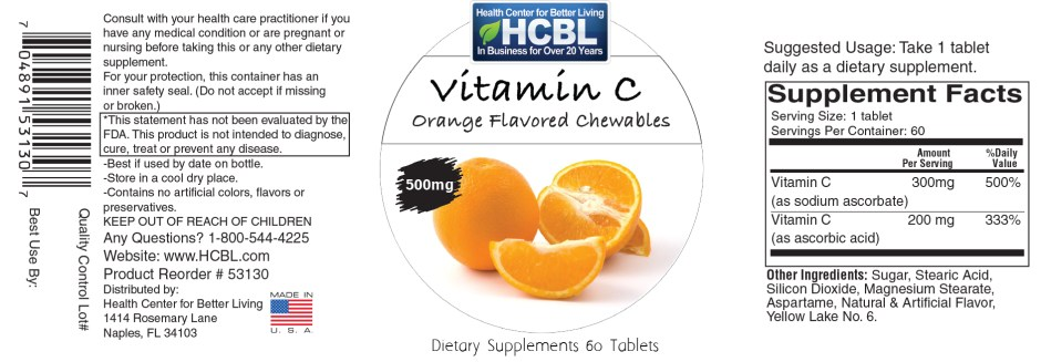 53130 VitaminC-Chewable