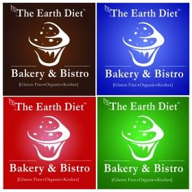 Earth Diet Bakery & Bistro Logo Idea