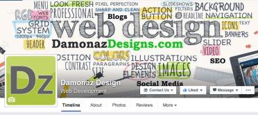 Damonaz Design Banner
