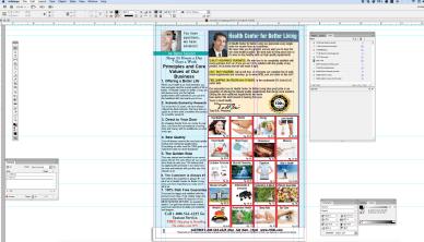 InDesign - Catalogue work