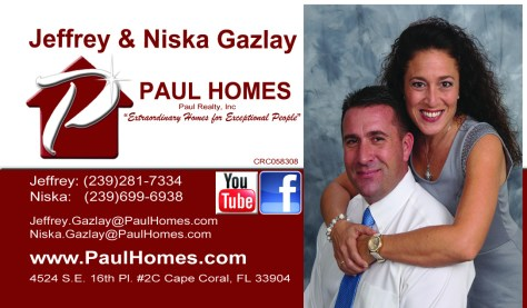 Jeff Gazlay 2014 Business Card