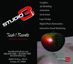 Studio3i Business Card
