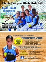 Softball post card design