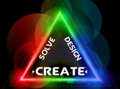 Solve Design Create Logo