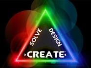 Solve Design Create Logo