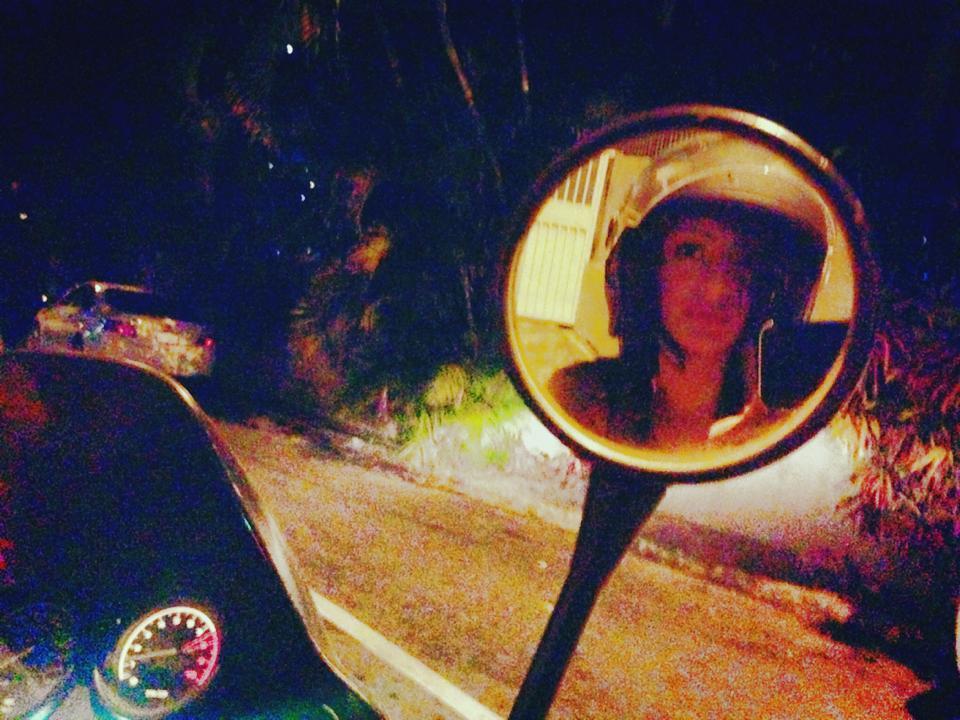 Sarah Begum motorbike