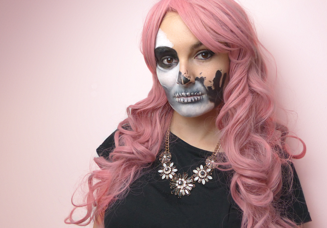 Halloween Make-up Tutorial: Glam Skull