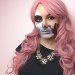 Halloween Tutorial Glam Skull