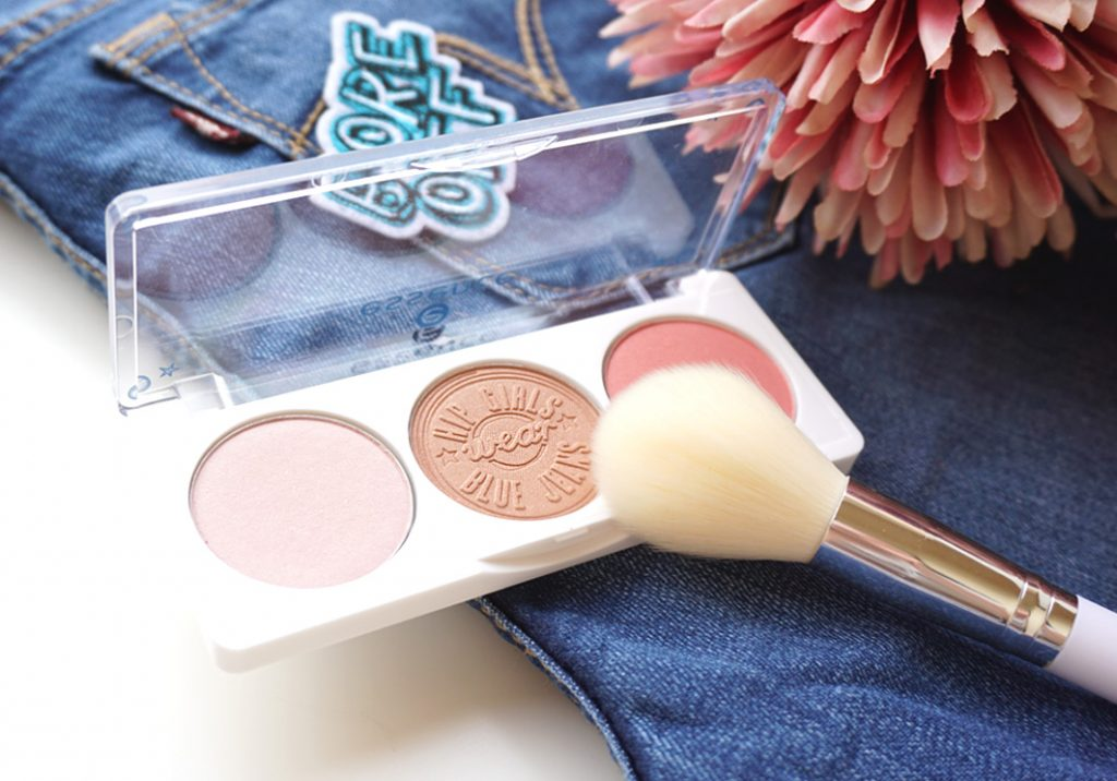 essence hip girls wear blue jeans bronze and blush sunkissed palette