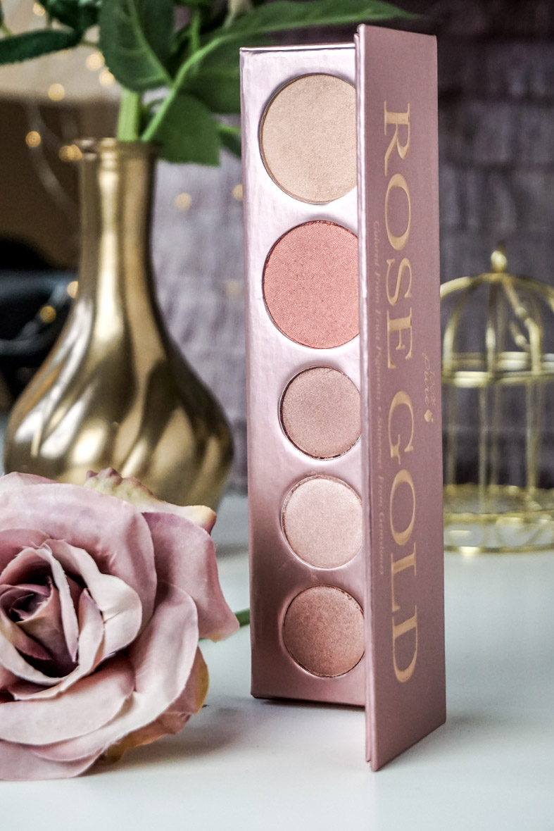 100% Pure RoseGold Palette