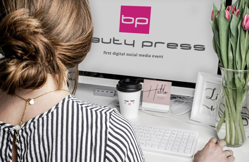 beauty press first digital social media event 2020