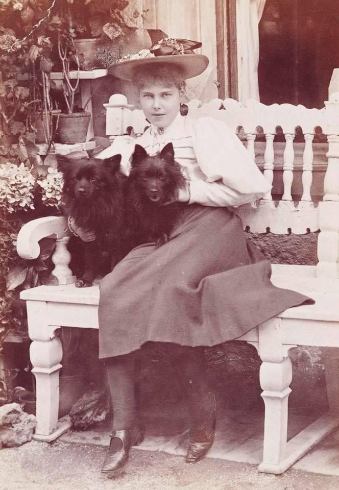 Princess Beatrice of Edinburgh Saxe-Coburg. 1895.
