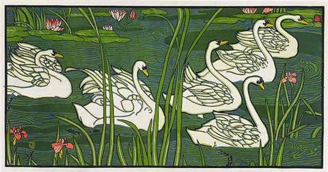 """Swans"". 1897."