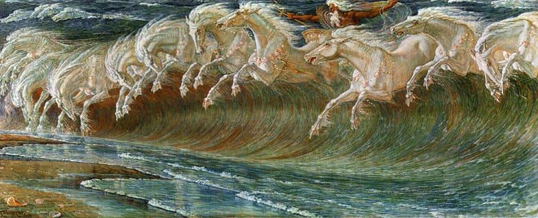 """""""Neptune's Horses"""". 1892."""