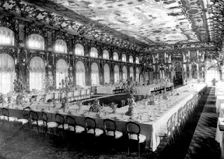 Great hall. Alexander Palace. Tsarkoe Selo, Russia. 1900's.