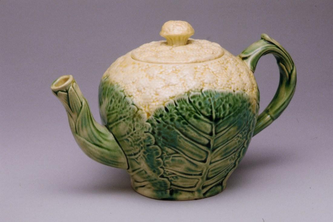 Cauliflower teapot. 1880-89.