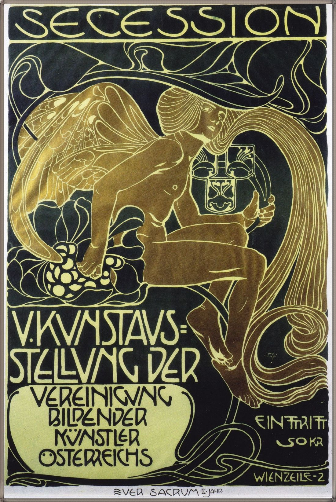 Poster for the 5th Exhibition of the Wiener Secession. 1905.