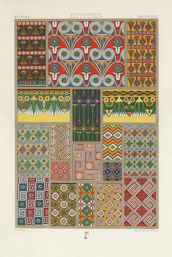 Egyptien. 1888.