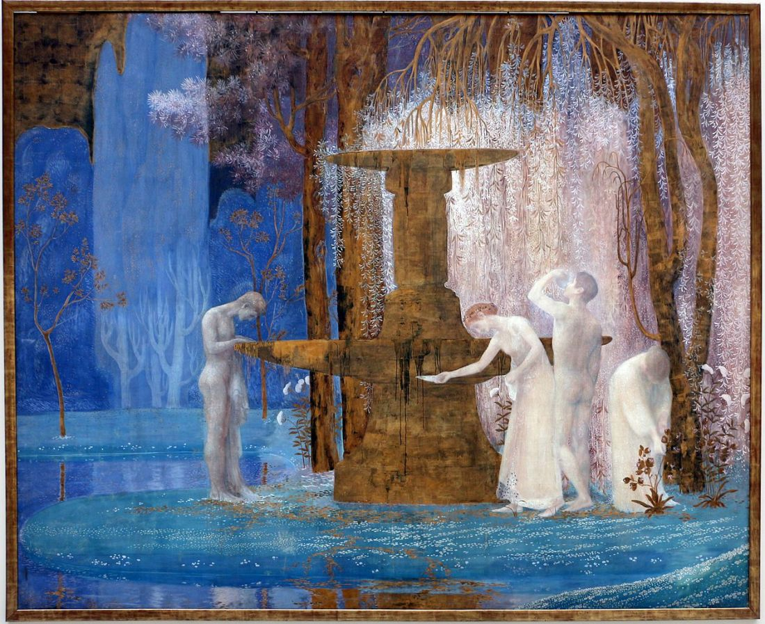 """""""Fountain of Inspiration."""" 1907."""