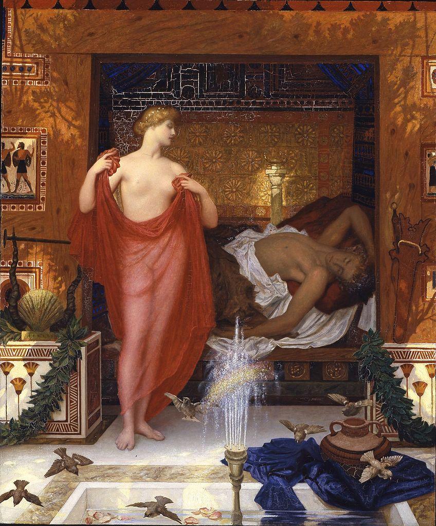 """""""Hera in the House of Hephaistos."""" 1902."""