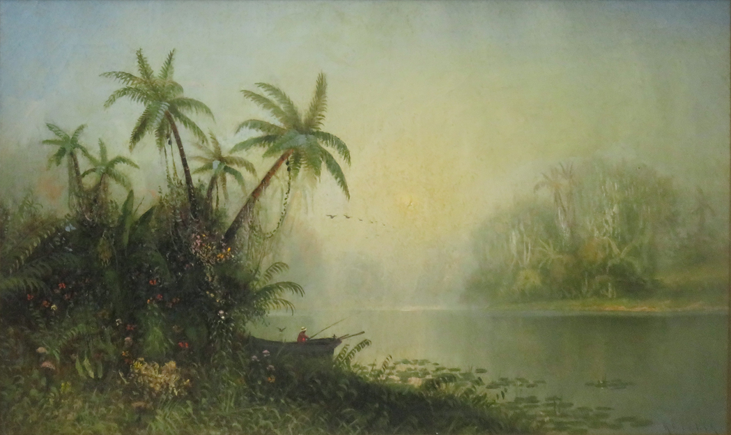 """""""Fishing in the tropics."""" Undated."""