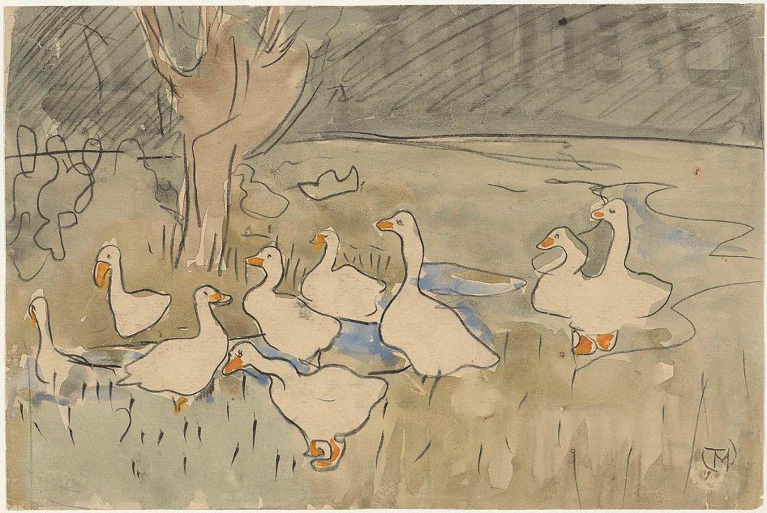 """""""Ducks."""" Undated."""