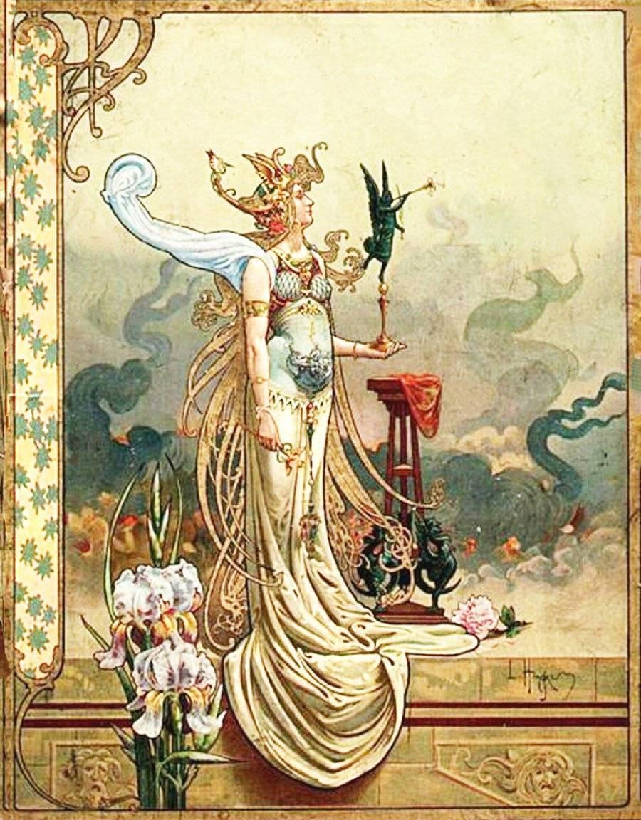 Lady angel.