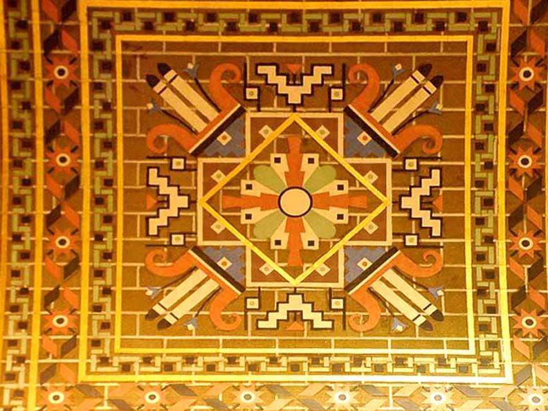 Tile. 1920's-1930's.Buffalo City Hall, Buffalo, New York.