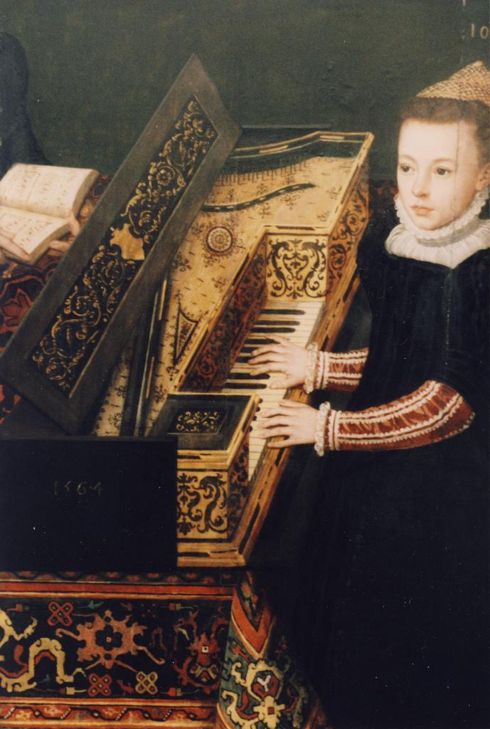 """""""Familienporträt des Hendrik van den Broucke"""" (detail). 1564."""