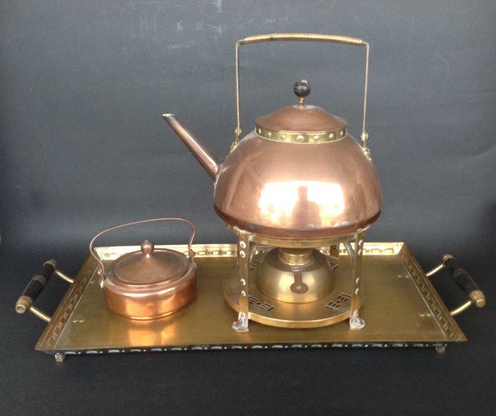 Tea and coffee set. 1902-1904.