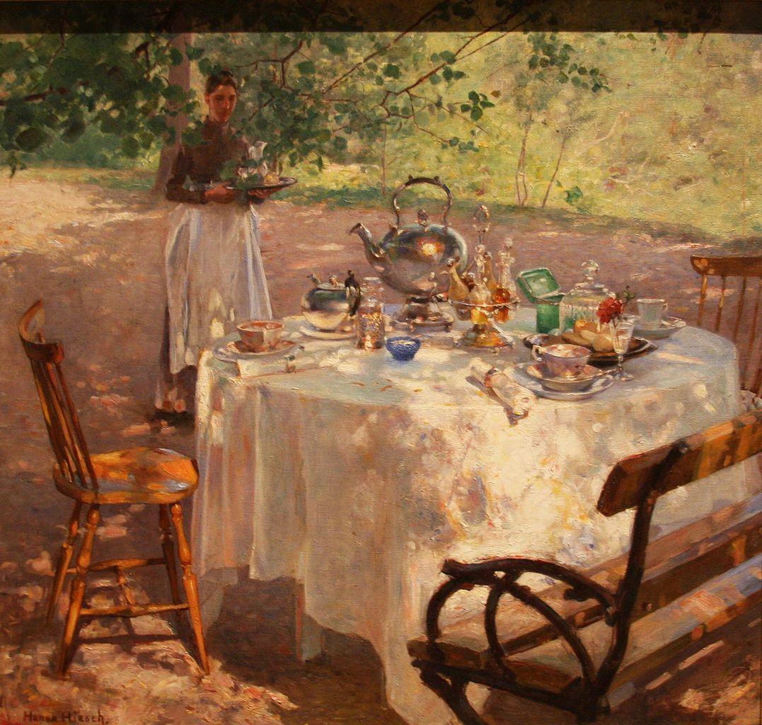 """""""Breakfast Time."""" 1887."""