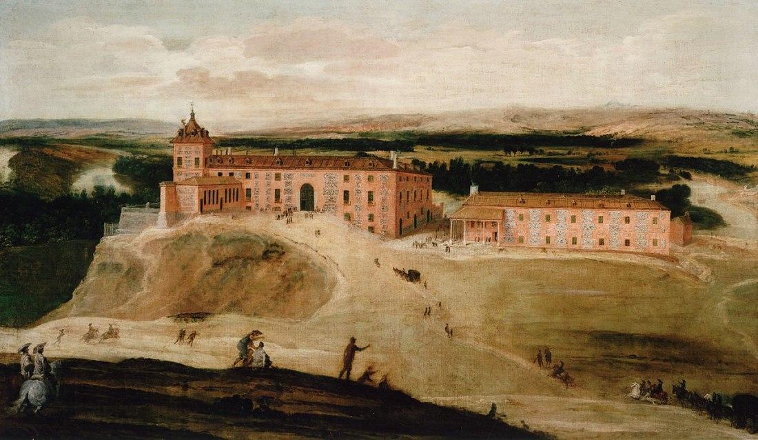 """""""Vista de la Real Casa de Aceca."""" 1637."""