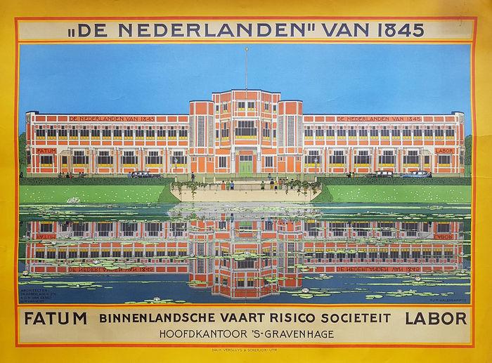 """""""De nederlanden"""" van 1845."""