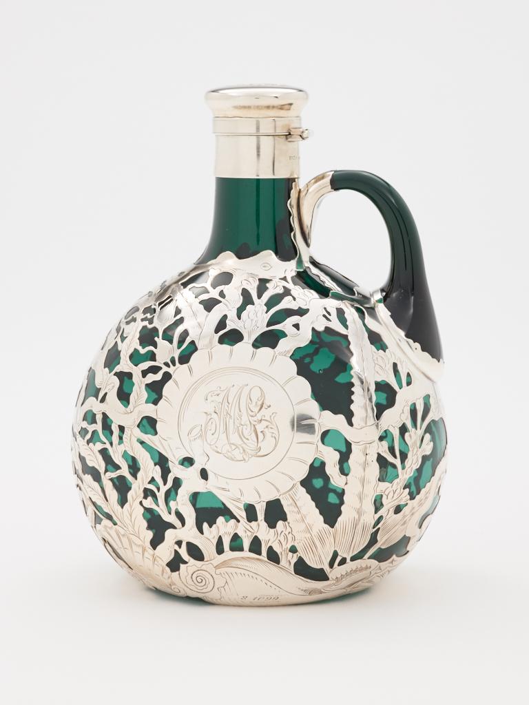 Whiskey decanter. 1892.