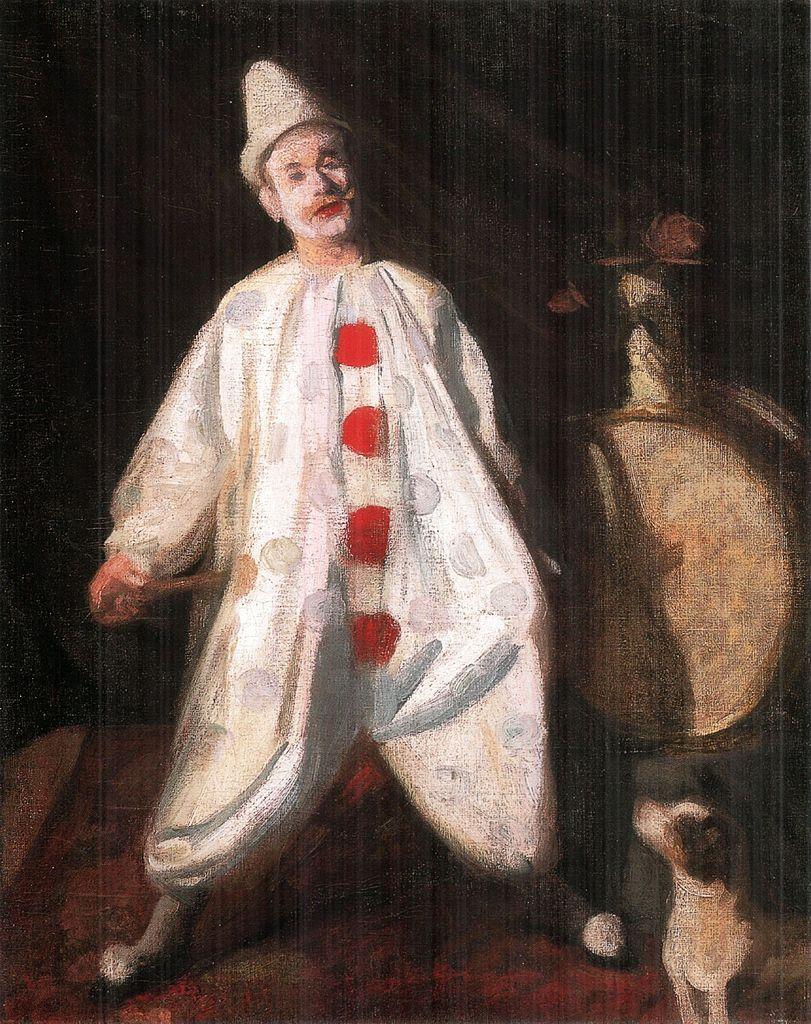 """""""Clown."""" 1910."""