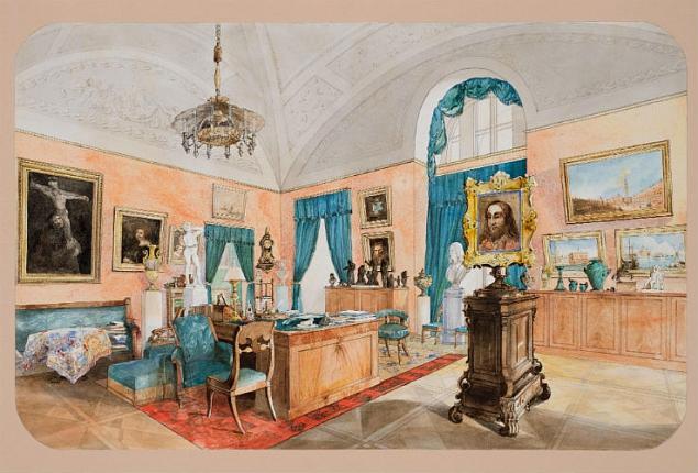 """""""The Count of S. S. Petersburg."""" 1847."""