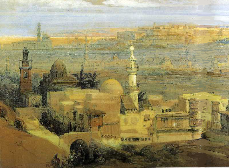 """""""Cairo."""" Undated."""