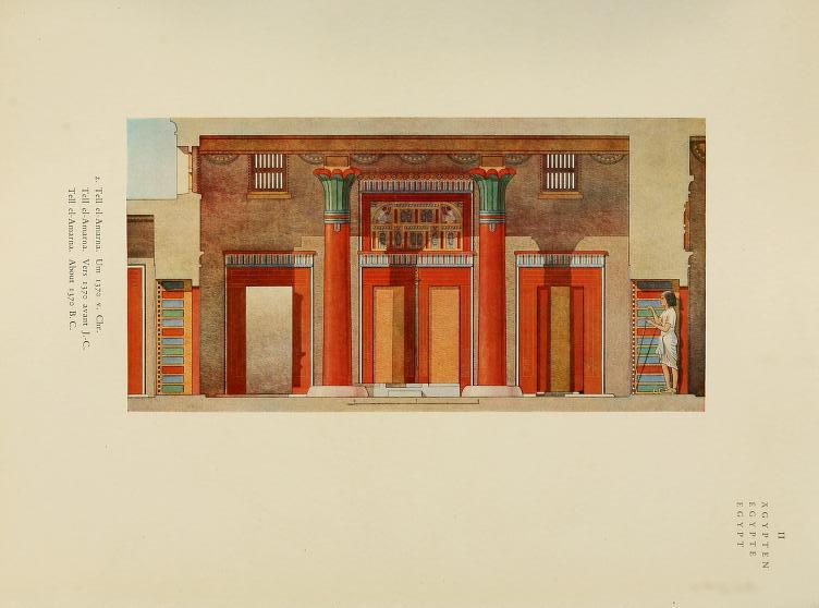 """Egyptian"" Plate 2. Tell al-Amarna."