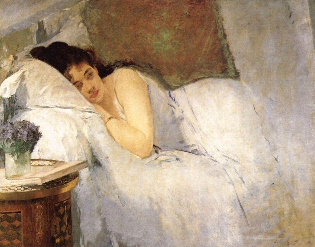 """""""Morning Awakening."""" 1876."""