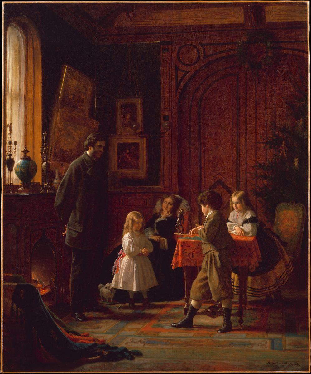 Christmas Time: The Blodgett Family. 1864.
