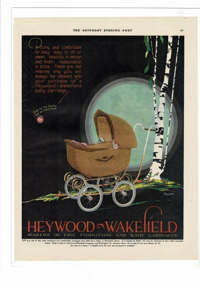 Baby carriage. 1929.