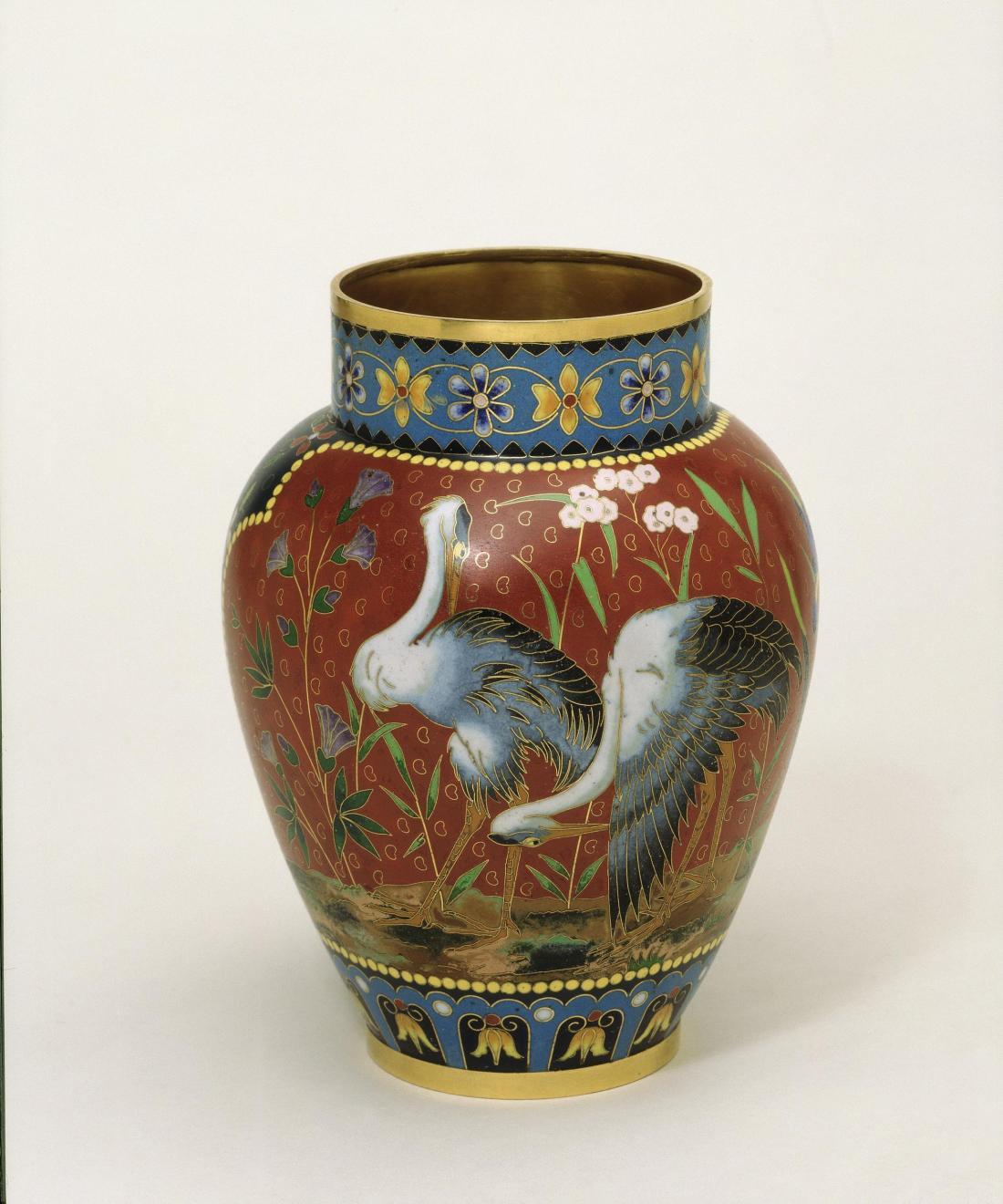 Vase. 1876.