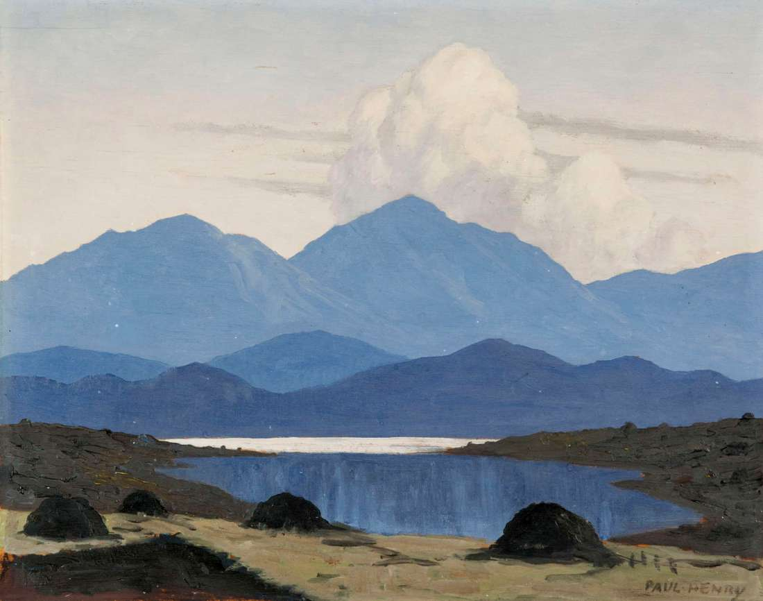 """""""In the Western Mountains."""" 1910-1911."""