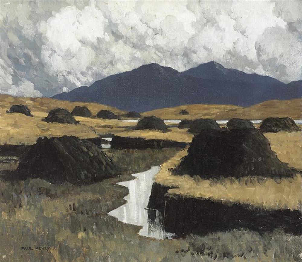 """""""A Kerry Bog."""" 1934-1935."""