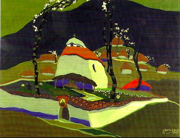 """""""Landscape of Muglish."""" 1925."""