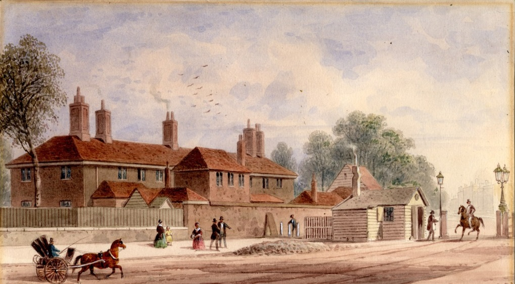 """Kensington Barracks."" ca. 1840."